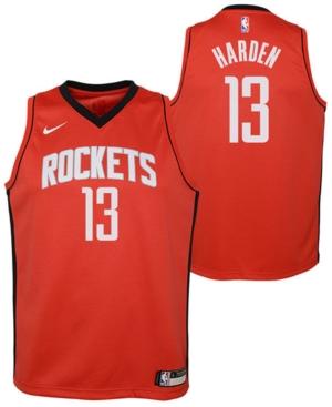 Nike Big Boys James Harden Houston Rockets Icon Swingman Jersey