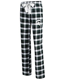 Women's Michigan State Spartans Piedmont Flannel Pajama Pants