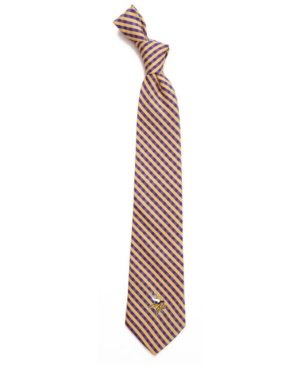 Minnesota Vikings Poly Gingham Tie
