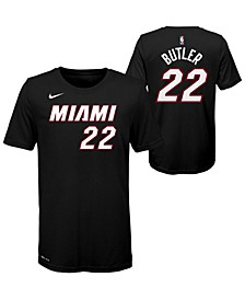 Big Boys Jimmy Butler Miami Heat Icon Name and Number T-Shirt