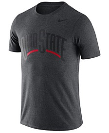 Men's Ohio State Buckeyes Dri-FIT Cotton Wordmark T-Shirt