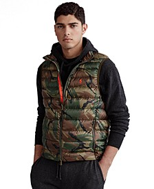 Men's Camo Packable Down Vest
