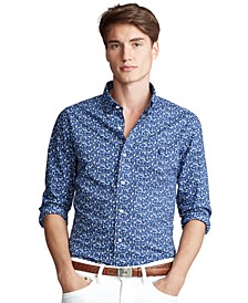 Men's Classic Fit Floral Shirt