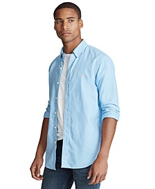 Men's Classic Fit Garment-Dyed Oxford Shirt