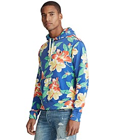 Men's Floral French Terry Hoodie