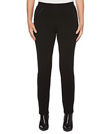 Women's Ponte Comfort Fit Slim Leg Pants