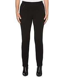 Women's Ponte Comfort Fit Slim Leg Pants