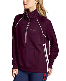 Champion Women's Phys Ed Double Dry Half-Zip Sweatshirt
