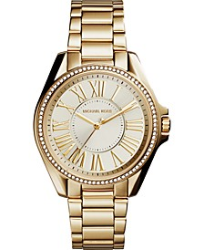 Women's Kacie Gold-Tone Stainless Steel Bracelet Watch 39mm
