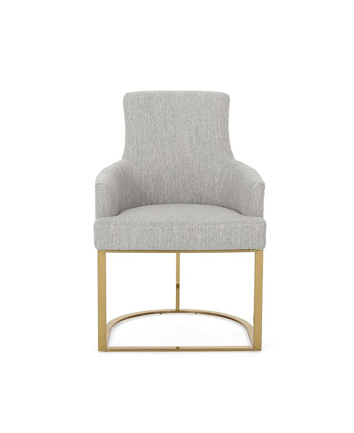 Noble House - Gloria Accent Chair, Quick Ship