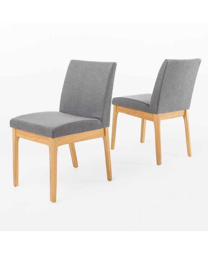 Noble House - Kwame Dining Chair, Quick Ship (Set of 2)