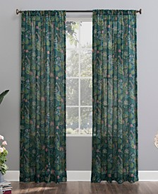 Senegal Night Safari Semi-Sheer Curtain Panel Collection