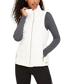 Fleece-Lined Quilted Vest