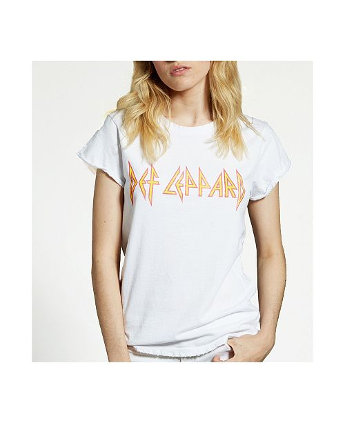 Recycled Karma Brands Def Leppard Logo T-Shirt
