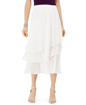 1920s Skirt History Msk Tiered Skirt $29.50 AT vintagedancer.com