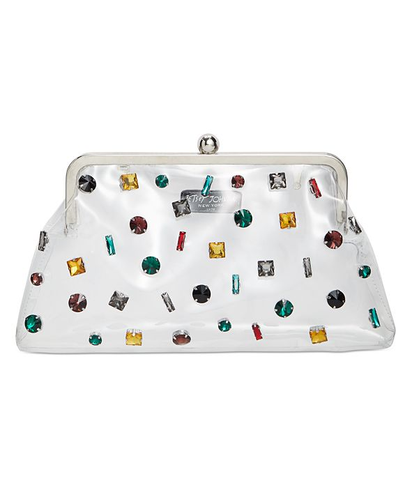Betsey Johnson Crystal Clear Clutch