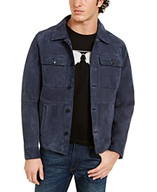 Men's Suede Shirt Jacket
