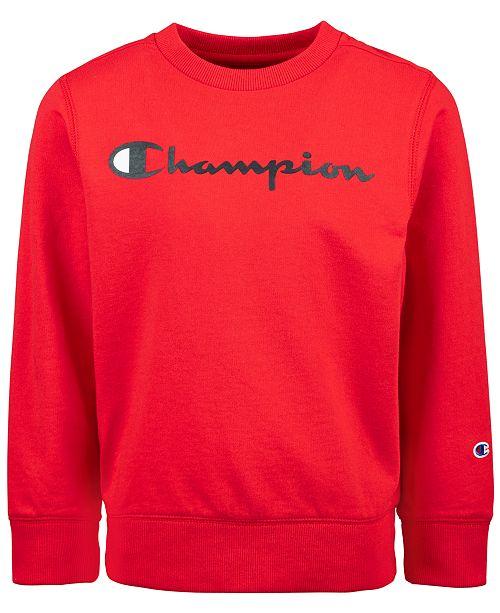 Champion Little Boys French Terry Sweatshirt