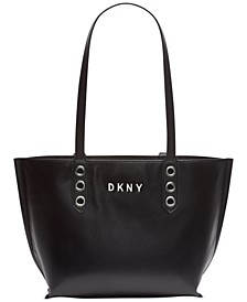 Duane North South Leather Tote