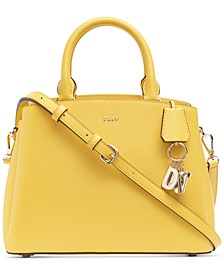 Paige Medium Leather Satchel, Created For Macy's