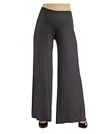 Women's Comfortable Solid Color Maternity Palazzo Pants