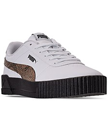 Women's Carina Leo Casual Sneakers from Finish Line
