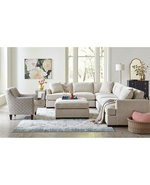 Juliam Fabric Sectional Sofa Collection