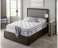 """Scott Living Cascade 14.5"""" Plush Euro Pillow Top Mattress- Twin XL"""