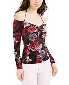 Julissa Printed Off-The-Shoulder Top