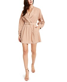 Belted Utility Mini Dress