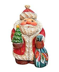 Christmas Tree Santa Figurine