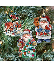 Father Frost Tales Ornaments, Set of 3