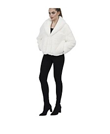 Tiara Faux Fur Jacket