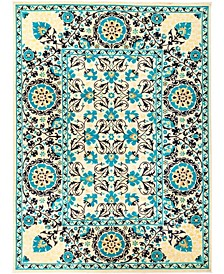 """CLOSEOUT! One of a Kind OOAK29 Turquoise 10'1"""" x 13'8"""" Area Rug"""