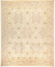 "CLOSEOUT! One of a Kind OOAK32 Ivory 11'10"" x 14'8"" Area Rug"
