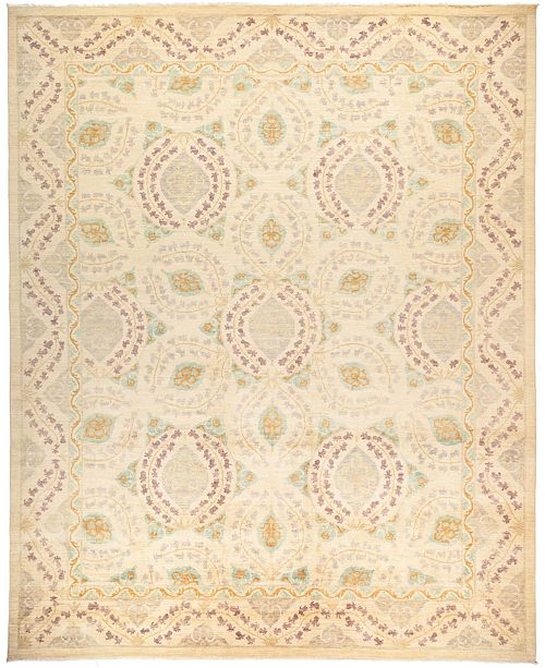"Timeless Rug Designs CLOSEOUT! One of a Kind OOAK32 Ivory 11'10"" x 14'8"" Area Rug"