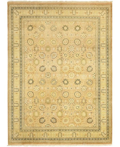 """Timeless Rug Designs CLOSEOUT! One of a Kind OOAK48 Flax 10'1"""" x 14'3"""" Area Rug"""