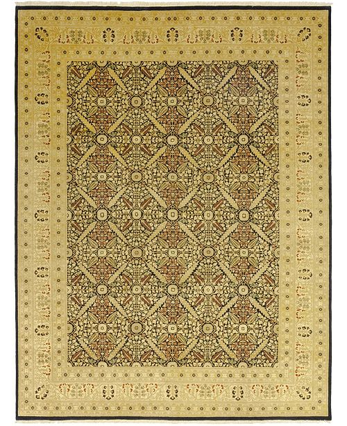 """Timeless Rug Designs CLOSEOUT! One of a Kind OOAK68 Mocha 10'2"""" x 13'3"""" Area Rug"""