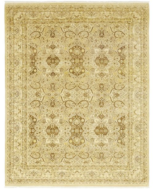 """Timeless Rug Designs One of a Kind OOAK89 Flax 9'1"""" x 11'9"""" Area Rug"""