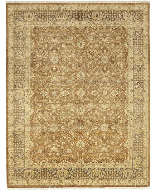 "Timeless Rug Designs One of a Kind OOAK98 Cinnamon 9'1"" x 11'9"" Area Rug"