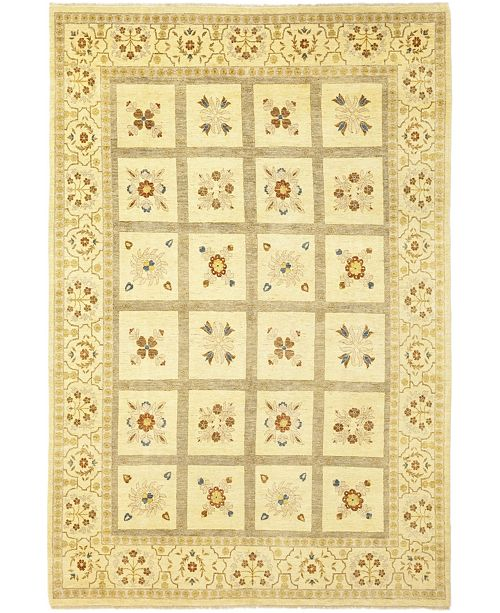 """Timeless Rug Designs CLOSEOUT! One of a Kind OOAK138 Flax 9'9"""" x 13'3"""" Area Rug"""