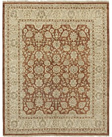 "CLOSEOUT! One of a Kind OOAK158 Chestnut 8'3"" x 10'1"" Area Rug"
