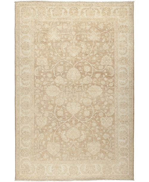 """Timeless Rug Designs CLOSEOUT! One of a Kind OOAK619 Mocha 6'8"""" x 10' Area Rug"""
