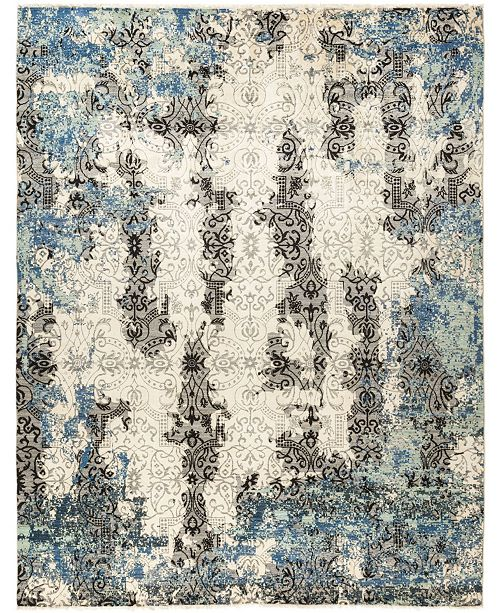 """Timeless Rug Designs CLOSEOUT! One of a Kind OOAK690 Ivory 8' x 10'3"""" Area Rug"""