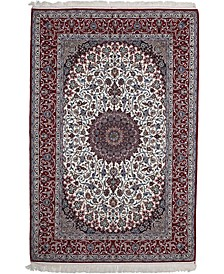 """CLOSEOUT! One of a Kind OOAK2674 Red 5'4"""" x 8' Area Rug"""