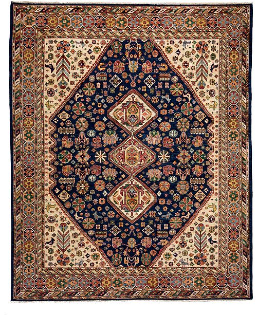 "Timeless Rug Designs CLOSEOUT! One of a Kind OOAK3774 Onyx 8'4"" x 9'8"" Area Rug"