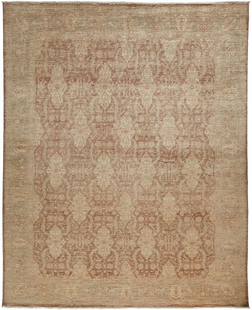 """Timeless Rug Designs CLOSEOUT! One of a Kind OOAK3424 Mocha 8'2"""" x 9'10"""" Area Rug"""