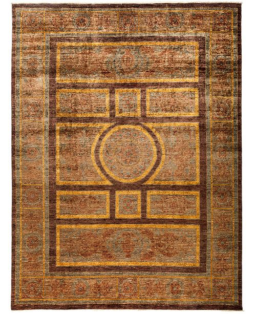 "Timeless Rug Designs CLOSEOUT! One of a Kind OOAK3001 Cocoa 9' x 11'10"" Area Rug"