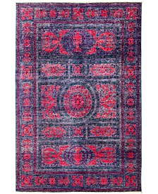 """CLOSEOUT! One of a Kind OOAK2971 Red 6'1"""" x 8'9"""" Area Rug"""