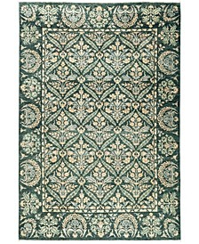 """CLOSEOUT! One of a Kind OOAK2880 Green 6'3"""" x 9'2"""" Area Rug"""